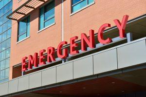 emergency sign ambulance