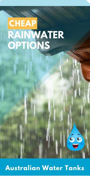 cheapest rainwater tanks